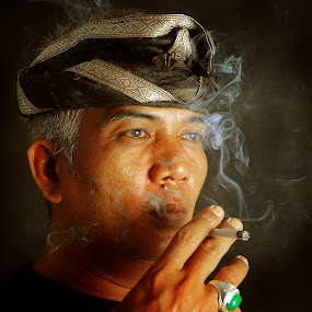 bli wayan by Giyok Base - People Portraits of Men ( #portrait #balinese#bali#art )