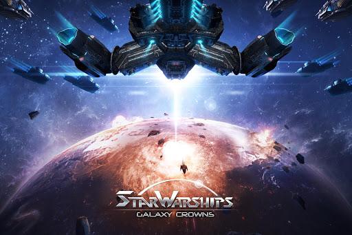 Star Warships: Galaxy Crowns 18.0 screenshots 1