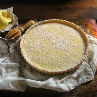 Lemon Tart with Lemon-Vanilla Sablé Crust.