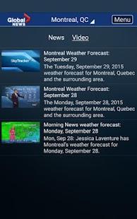Global News Skytracker- screenshot thumbnail