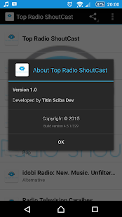 Top Radio ShoutCast- screenshot thumbnail
