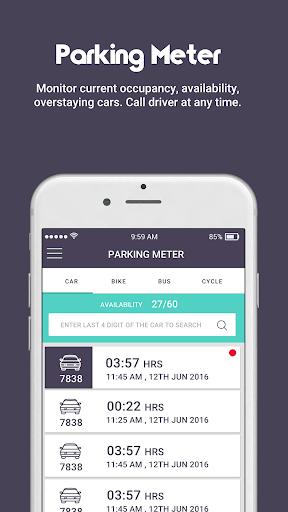 Parking mart Smart Parking Management by Park24x7 1.0.0.20 screenshots 2