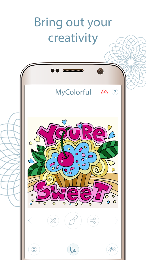 Coloring book app mycolorful android apps on google play Coloring book app