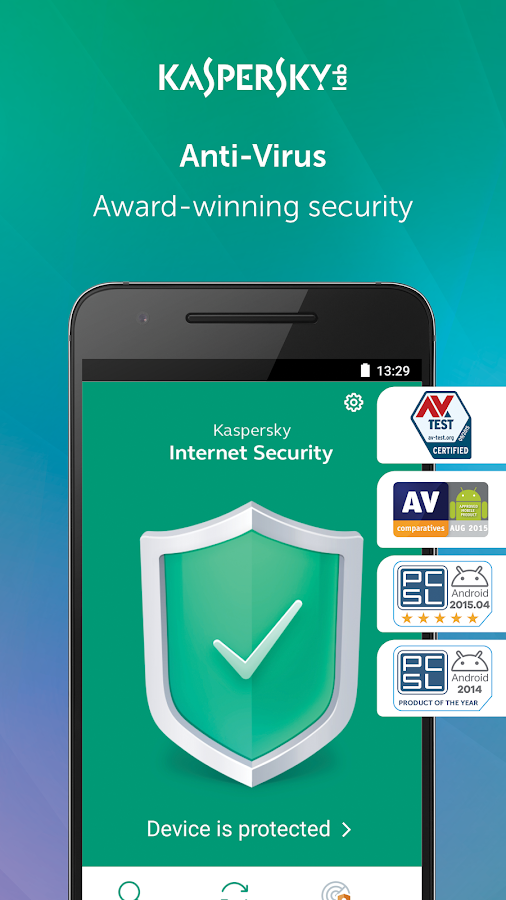 Kaspersky Antivirus  AppLock & Web Security- screenshot