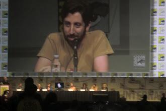 Photo: Friday - Big Bang Theory panel; star Simon Helberg