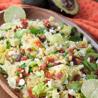 BLT Chopped Salad with Avocado.