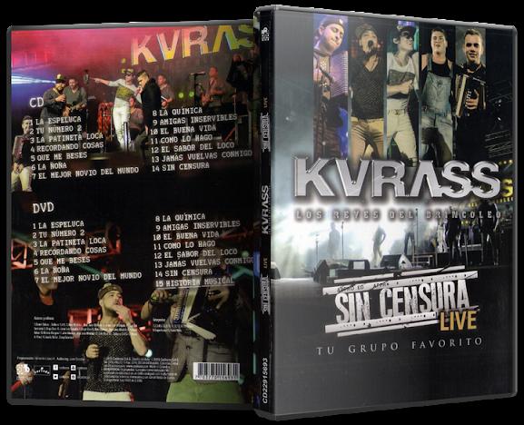 Kvrass - Sin Censura Live (2015) [MP3 @320 Kbps]
