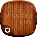 3D Wooden Life-Solo Theme icon