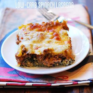 Low Carb Spinach Lasagna