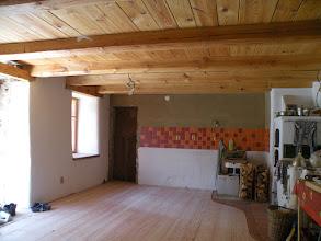 Photo: hotová pokládka podlahy, zbývá ještě její finální úprava, což je minimálně jednou tolik práce jako pokládání!