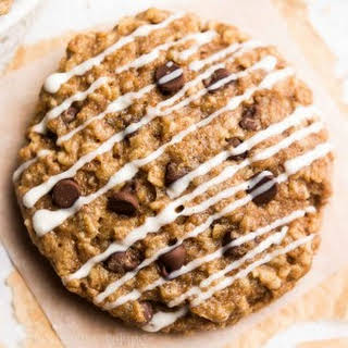Chocolate Chip Cheesecake Oatmeal Cookies.