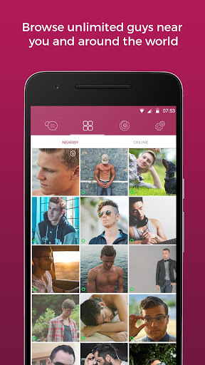 Lollipop - Gay Video Chat & Gay Dating for Men 3.4.37 (16.11.2017_2) screenshots 2