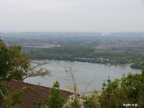 Photo: Vue vers le plan d'eau de St Nicolas de la Grave