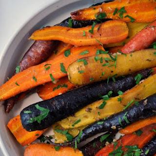 Roasted-Carrots-with-Honey-Mustard Glaze