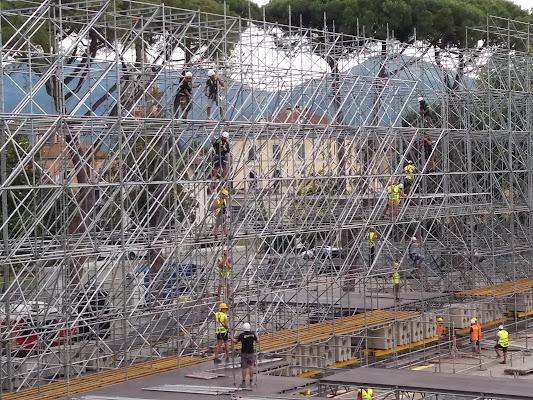 Il palco di Giorgio Lucca