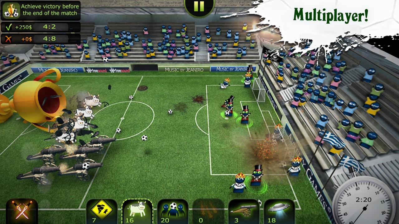 FootLOL: Crazy Soccer Free- screenshot