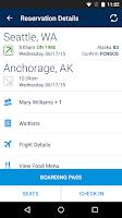 Screenshot of Alaska Airlines - Travel