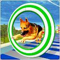 Crazy Dog Jump Stunt Sim 3D icon