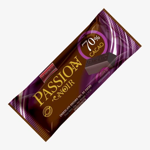 Chocolate St Moritz Passion Noir 70% Cacao