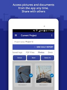 Construction Daily Log App - náhled