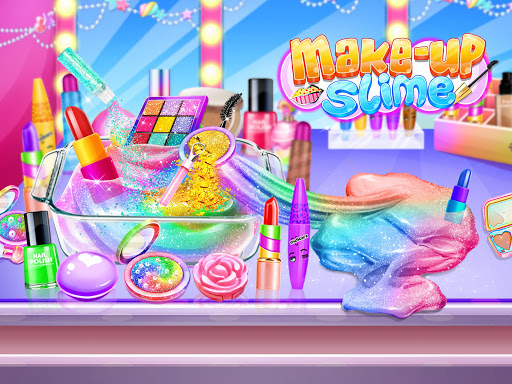 Make-up Slime - Girls Trendy Glitter Slime  screenshots 4