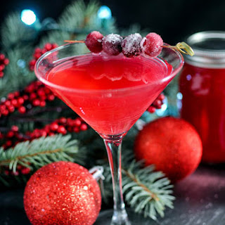 Cranberry Orange Shrub Cocktail