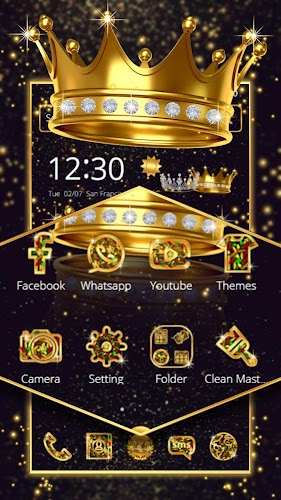 Download Royal Crown Theme APK latest version app by Astonish Themes