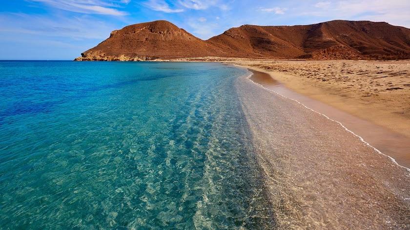 Las playas de Almería, principal argumento defensivo de la provincia.