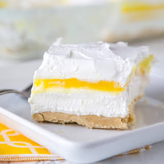 Lemon Lasagna Dessert.