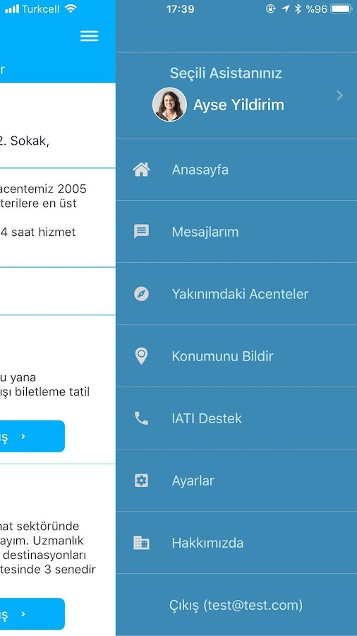 IATI Travel Assistant- screenshot