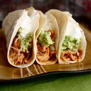 #5. Shredded Chicken Tacos