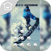 Sport Snow Ski Snowboard Theme