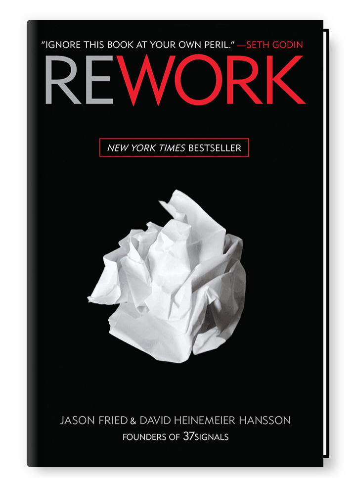 One of the best marketing books in 2020 - Rework by Jason Fried.