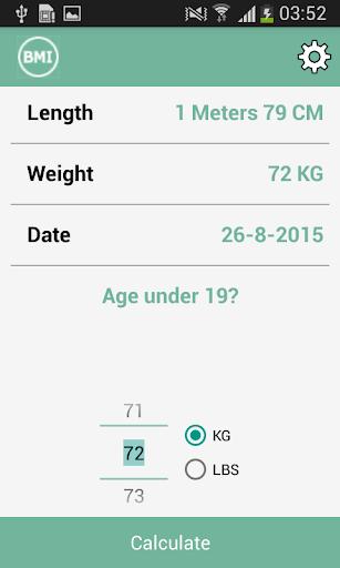 BMI Calculator: Ideal Weight