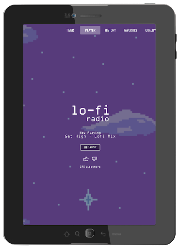 Lo-Fi Radio - Work, Study, Chill - screenshot