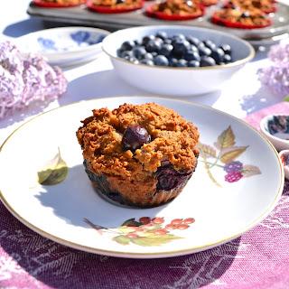 Paleo Banana Coconut Blueberry Muffins (SCD, GAPS, Gluten Free, Nut Free)