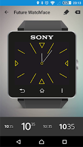 Future Watch face for SW2 Q8 screenshot 0