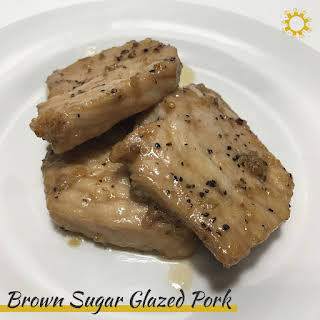 Brown Sugar Glazed Pork.