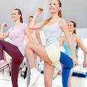 Aerobics weight loss workout icon