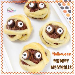 Halloween Mummy Meatball.