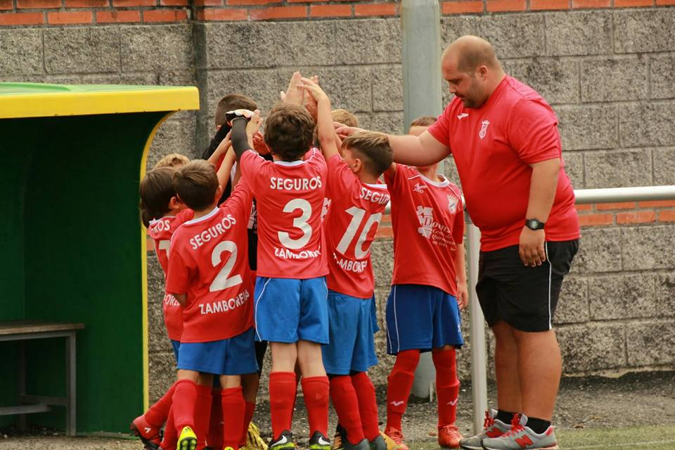 ADR Numancia de Ares. Prebenjamines 2017-2018. Jorge Monitor Fútbol Base.