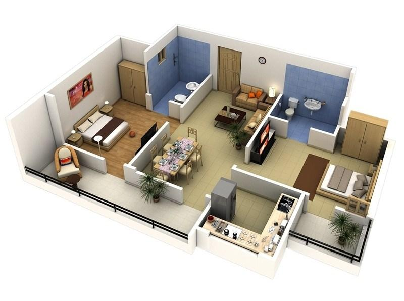 3d House Floor Plan Ideas Screenshot