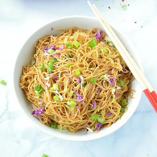 Cantonese Style Veg Noodles