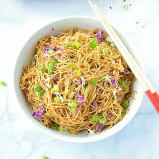 Cantonese Style Veg Noodles.