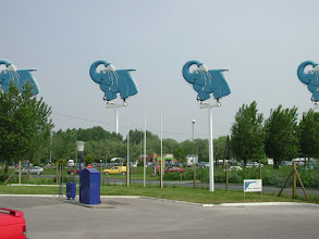 Photo: Éléphants bleus, Berck, 2002