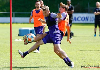 L'absence de Peter Gerkens plus longue que prévu du côté d'Anderlecht