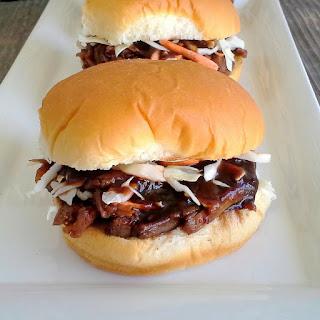 Honey Balsamic Pulled Pork Sandwiches