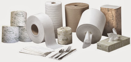Photo: Paper & Janitorial Products!