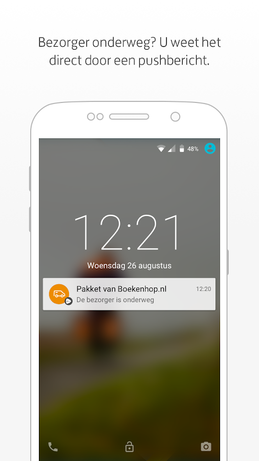 PostNL- screenshot
