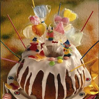 Cherry and Almond Birthday Cake.